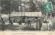 """78 Yveline CPA FRANCE 78 """"Forêt de Saint Germain en Laye, cabane de bûcherons"""""""