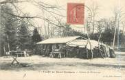 """78 Yveline CPA FRANCE 78 """"Forêt de Saint Germain, cabane de bûcherons"""""""