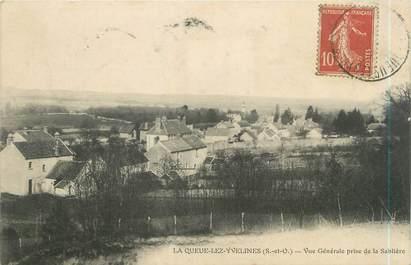 """CPA FRANCE 78 """"La Queue Les Yvelines, vue générale prise de la Sablière"""""""