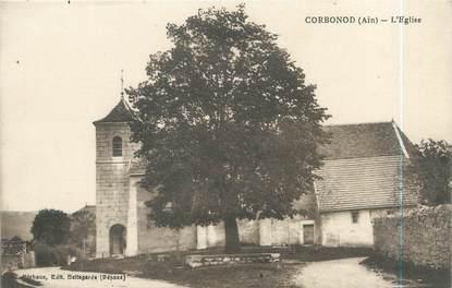 """CPA FRANCE 01 """"Corbonod, l'église"""""""