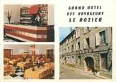 """48 Lozere CPSM FRANCE 48 """"Le Rozier, grand hôtel des voyageurs"""""""