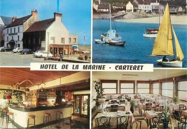 "CPSM FRANCE 50 ""Carteret, hôtel de la Marine"""
