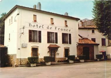 """CPSM FRANCE 42 """"Bourg Argental, hôtel de France"""""""