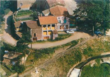 "CPSM FRANCE 42 ""La Valla en Gier, Auberge de la cascade"""