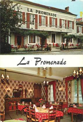 """CPSM FRANCE 46 """"Gramat, hôtel de la Promenade"""""""