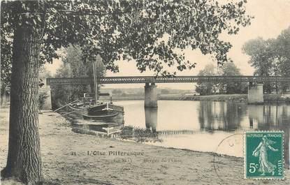 """CPA FRANCE 95 """"Cergy, Berges de l'Oise"""""""
