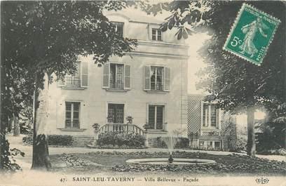 """CPA FRANCE 95 """"Saint Leu Taverny, villa Bellevue"""""""