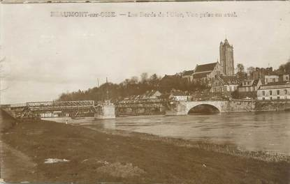 "CPA FRANCE 95 ""Beaumont sur Oise, les bords de l'Oise"""