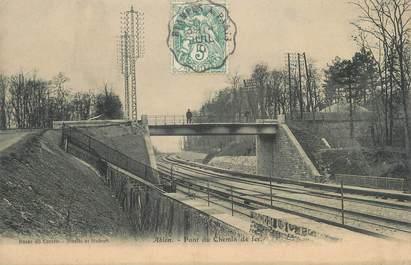 """CPA FRANCE 94 """"Ablon, pont du chemin de fer"""""""