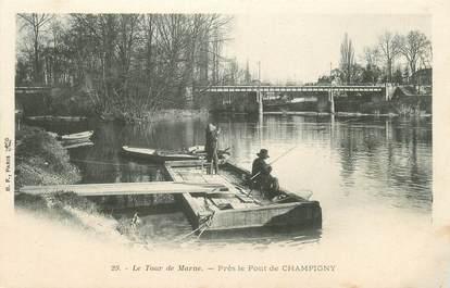 """CPA FRANCE 94 """"Le tour de Marne, près le Pont de Champigny"""""""