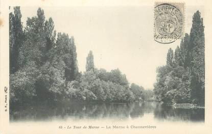 """CPA FRANCE 94 """"Le tour de Marne, la Marne à Chennevières"""""""