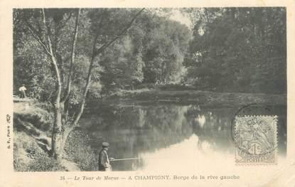"""CPA FRANCE 94 """"Le tour de Marne, à Champigny"""""""