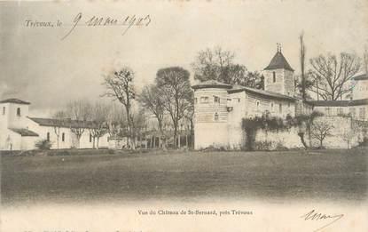 "CPA FRANCE 01 ""Trévoux, vue du château de Saint Bernard"""