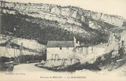"""CPA FRANCE 01 """"Environs de Belley, la Maladière"""""""
