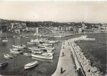 """CPSM FRANCE 06 """"Saint Jean Cap Ferrat, vue sur le port et la ville"""" / BATEAU"""
