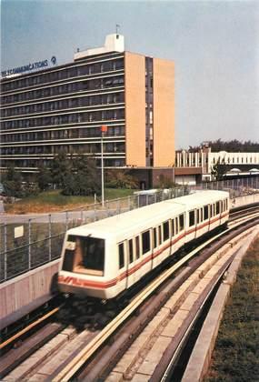 """CPSM FRANCE 59 """"Villeneuve d'Ascq, le métro"""""""