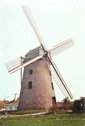 """CPSM FRANCE 59 """"Leers, le moulin"""""""