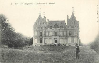 """CPA FRANCE 53 """"Saint Cénéré, château de la Ducherie"""""""