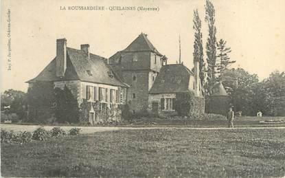 """CPA FRANCE 53 """"La Roussardière Quelaines"""""""