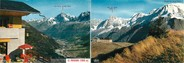 """74 Haute Savoie CPSM LIVRET FRANCE 74 """"Saint Gervais les Bains, table d'orientation"""""""