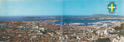 """CPSM PANORAMIQUE FRANCE 83 """"Toulon"""""""