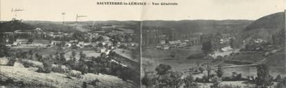 """CPA PANORAMIQUE FRANCE 47 """"Sauveterre La Lémance"""""""