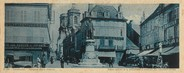 "52 Haute Marne CPA PANORAMIQUE FRANCE 52 ""Langres, place Diderot"""