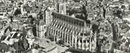 """18 Cher CPSM PANORAMIQUE FRANCE 18 """"Bourges, vue sur la cathédrale et l'hôtel de ville"""""""