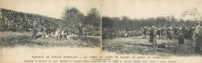 "CPA PANORAMIQUE FRANCE 78 ""Rambouillet"" / CHASSE"