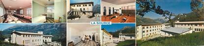 """CPSM LIVRET FRANCE 05 """"Saint Léger Les Melezes, clinique médicale la Source"""""""