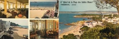 """CPSM LIVRET FRANCE 29 """"Tréboul, hôtel des Sables Blancs"""""""