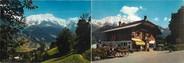 """74 Haute Savoie CPSM LIVRET FRANCE 74 """"Saint Nicolas de Véroce, hôtel du Mont Joly"""""""