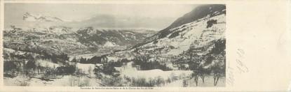 """CPA PANORAMIQUE FRANCE 74 """"Panorama de Saint Gervais les Bains et de la chaine des Fiz"""""""