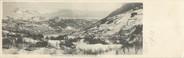 """74 Haute Savoie CPA PANORAMIQUE FRANCE 74 """"Panorama de Saint Gervais les Bains et de la chaine des Fiz"""""""