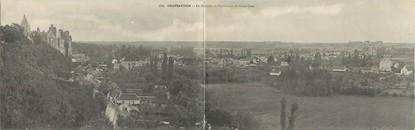 """CPA PANORAMIQUE FRANCE 28 """"Chateaudun, le château et panorama de Saint Jean"""""""