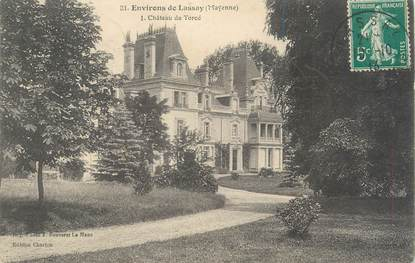"""CPA FRANCE 53 """"Château de Torcé, environs de Lassay"""""""
