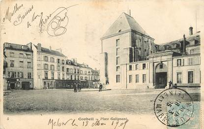 "CPA FRANCE 91 ""Corbeil, Place Galignani"""