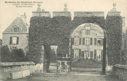 """CPA FRANCE 53 """"Saint Denis de Gastines, château de Montfleaux"""""""