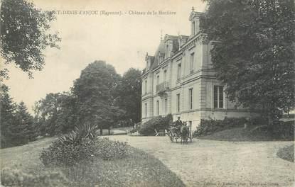 """CPA FRANCE 53 """"Saint Denis d'Anjou, château de la Morlière"""""""