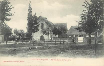 """CPA FRANCE 53 """"Villaines La Juhel, vieille église et presbytère"""""""