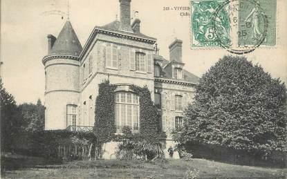 """CPA FRANCE 53 """"Viviers en Charnie, château"""""""