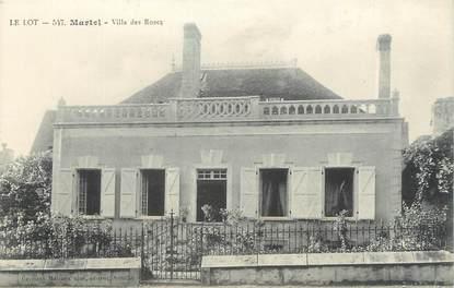 "CPA FRANCE 46 ""Martel, villa des roses"""