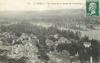 """CPA FRANCE 46 """"Mezels, vue générale"""""""