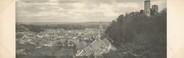 """78 Yveline CPA PANORAMIQUE FRANCE 78 """"Montfort l'Amaury, vue générale de la ville et des ruines"""""""