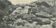 """CPA PANORAMIQUE 29 """"Saint Herbot, la cascade"""""""