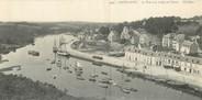 """29 Finistere CPA PANORAMIQUE 29 """"Pont Aven, le port et la vallée de l'Aven"""""""