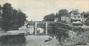 """95 Val D'oise CPA PANORAMIQUE 95 """"L'Isle Adam, le pont Cabouillet"""""""