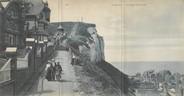 """76 Seine Maritime CPA PANORAMIQUE 76 """"Le Tréport, l'escalier des falaises"""""""