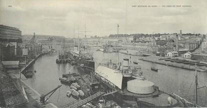 "CPA PANORAMIQUE FRANCE 29 ""Brest, port militaire"""