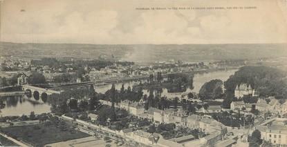 """CPA PANORAMIQUE 27 """"Panorama de Vernon"""""""
